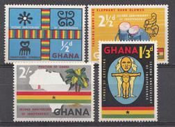 Ghana 1959 Mi.nr: 42-45 Unabhängigkeit  Neuf Sans Charniere /MNH / Postfris - Ghana (1957-...)