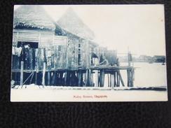 Singapore 1 Malay Houses Cca 1910 - Singapore