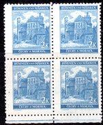 XP3054 - BOEMIA MORAVIA 1940, PARDUBICE  2,00 K  Quartina  *** - Bohême & Moravie