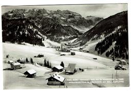 Dolomiti : Selva Di Gardena M. 1562 - Wolkenstein In Groeden Mit Sellagruppe, Circ. 1957 - 2 Scans - Other Cities