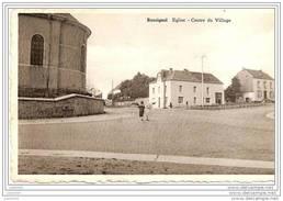 ROSSIGNOL ..--  Eglise . Centre Du Village . 1966 Vers ISSY - LES - MOULINEAUX ( Mr Mme J. BRIANT ) . - Tintigny