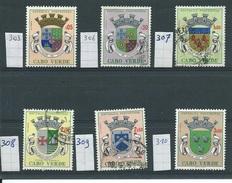 Kaapverdische Eilanden     Y /T   Tussen  303  En  310     (O) - Cap Vert