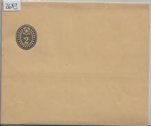 1902 Streifband Nr. 19 - 2 Rp. Schwarz - Ganzsachen
