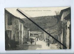 CPA - Vaux Sur St Urbain  - (Hte Marne ) - Rue De Donjeux - France