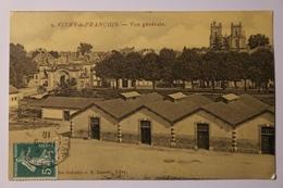 Cpa Vitry Le François Vue Générale - Sépia 1910 - TOK06 - Vitry-le-François