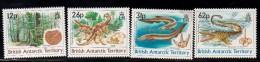 1991 British Antarctic Territory Dinosaurs Fossils  Complete Set Of 4  MNH - Ungebraucht