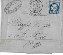 32144 - Enveloppe Envoyée De Radonviller 1875 - 1871-1875 Cérès