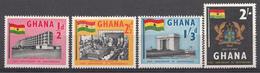 Ghana 1958 Mi.nr: 20-23 Unabhängigkeit  Neuf Sans Charniere /MNH / Postfris - Ghana (1957-...)