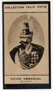 Collection Felix Potin - 1898 - REAL PHOTO - Victor Emmanuel III, Roi D'Italie, Vittorio Emanuele III Di Savoia - Félix Potin