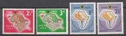 Ghana 1958 Mi.nr: 24-27 Konferenz Der....  Neuf Sans Charniere /MNH / Postfris - Ghana (1957-...)