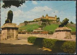 °°° 4694 - WURZBURG - FESTUNG MARIENBERG MIT LOWENBRUCKE - 1962 °°° - Wuerzburg