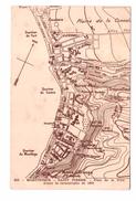Martinique St Saint Pierre Plan De La Ville Avant La Catastrophe De 1902 Cpa - Other