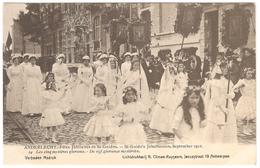 Anderlecht - Fêtes Jubilaires St Guidon / Jubelfeesten St Guido Sept. 1912 - Ed. Climan-Ruyssers - NR 24 - Animée - Anderlecht