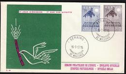 Belgium 1957 / Europa CEPT / FDC - Europa-CEPT