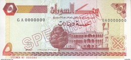 SUDAN 5 DINARS 1993 P-51s SPECIMEN UNC */* - Sudan