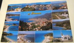 Greece Panorama Of Samos Toubis - Posted 2000 - Grèce