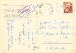 Italy & Roma, Fontana Della Navicella Roma Para Lisboa Portugal 1968 (66231) - 6. 1946-.. Republic