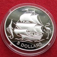 Bahamas 5 $ 1993 Sail Ship - Bahamas