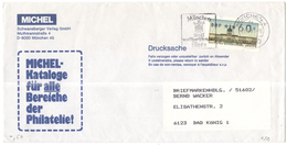 GERMANIA - GERMANY - Deutschland - ALLEMAGNE - BUNDESPOST - Berlin - 1993 - ATM 60 + Flamme München Stadt Weltberühmter