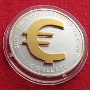 Nauru 10 $ 2003 EUR Currency - Nauru