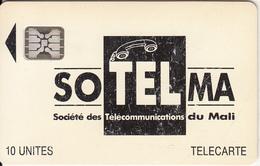 MALI - Soltelma Logo(large), First Issue 10 Units, BN : 40792, Chip SC5, Used - Mali