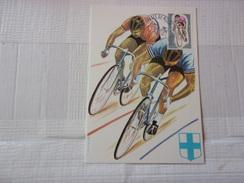 FRANCE (1972) CHAMPIONNAT DU MONDE CYCLISTES (marseille) - Maximum Cards