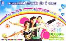TK15768 LAOS - Prepaid M Phone