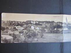 AK GMÜND 3er Klappkarte 1923 // D*24487 - Gmünd