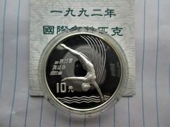 China, 10 Yuan, 1990 Platform Diver - China