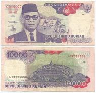 Indonesia 10.000 Rupiah 1992 (1998) Pick 131.g Ref 267 - Indonesia