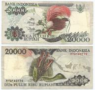 Indonesia 20.000 Rupiah 1995 (1998) Pick 135.d Ref 269 - Indonesia