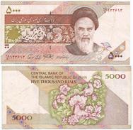 Iran 5.000 Rials 1993, Firma 28 Pick 145.c Ref 273 - Irán
