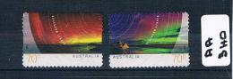 Australia  2014 Southern Light's 2val P/s F/used  AA340 - 2010-... Elizabeth II