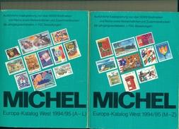 MICHEL EUROPE OUEST EN 2 VOLUMES 1995 -  2947 Pages  Ttb état - Cataloghi