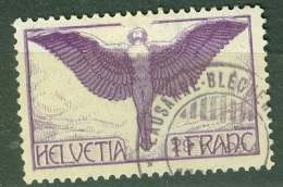 Suisse   PA  Yvert  12a   Ob  TB   Papier Ordinaire