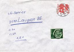 Brief Von Domat/Ems, Austaxiert (br0702) - Taxe