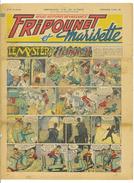 JOURNAL FRIPOUNET ET MARISETTE N°20 14eme ANNEE 16 MAI 1954 LE MYSTERE D'ETRANGEVAL - Livres, BD, Revues