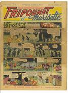 JOURNAL FRIPOUNET ET MARISETTE N°49 15eme ANNEE 4 DECEMBRE 1955 LA TROISIEME SOUCOUPE Abime - 1901-1940
