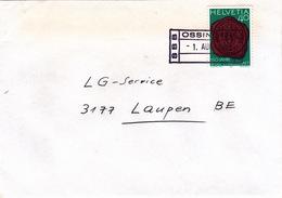 Brief Von SBB Ossingen (Bahnhofsstempel) (br0721) - Railway
