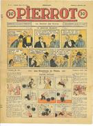 JOURNAL PIERROT N°49 11eme ANNEE 6 DECEMBRE 1936 UN MAUVAIS PLAISANT - 1901-1940