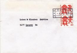 Brief Von SBB Bauma (Bahnhofsstempel) (br0729) - Railway