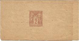 Timbres France 2 Francs Groupe Allégorique Paix Et Commerce Type Sage *** Timbre Imprimé Sur Bandelette***