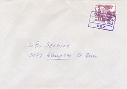 Brief Von SEZ Därstetten (Bahnhofsstempel) (br0743) - Railway