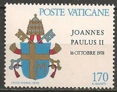 Timbres - Europe - Vatican - 1979 - 170 L. - N° Y.  666 - - Vaticano (Ciudad Del)