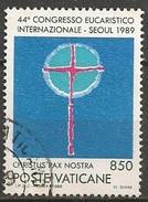 Timbres - Europe - Vatican - 1989 - 850 L. - N° M.  985 - - Vaticano (Ciudad Del)