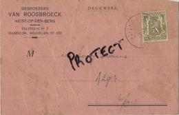 Heist Op Den Berg : Gebroeders VAN ROOSBROECK : Ingeschrevene Kliënten-Kolen 1945 - Heist-op-den-Berg