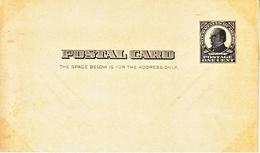 US UX 19  *   MINT W / HISTORIC BACKING - Postal Stationery