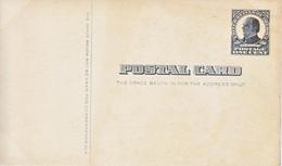 US UX 20   *   MINT  W / HISTORIC BACKING - Postal Stationery