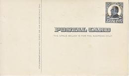 US UX 20   *   MINT  W /  BACKING - Postal Stationery