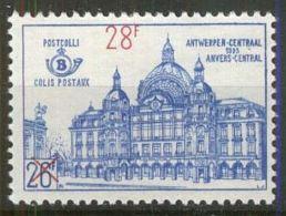 BELGIEN 1964 MI-NR. Postpaketmarken 57 ** MNH - Bahnwesen